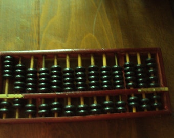 French vintage, Abacus found in france in the 1970s.