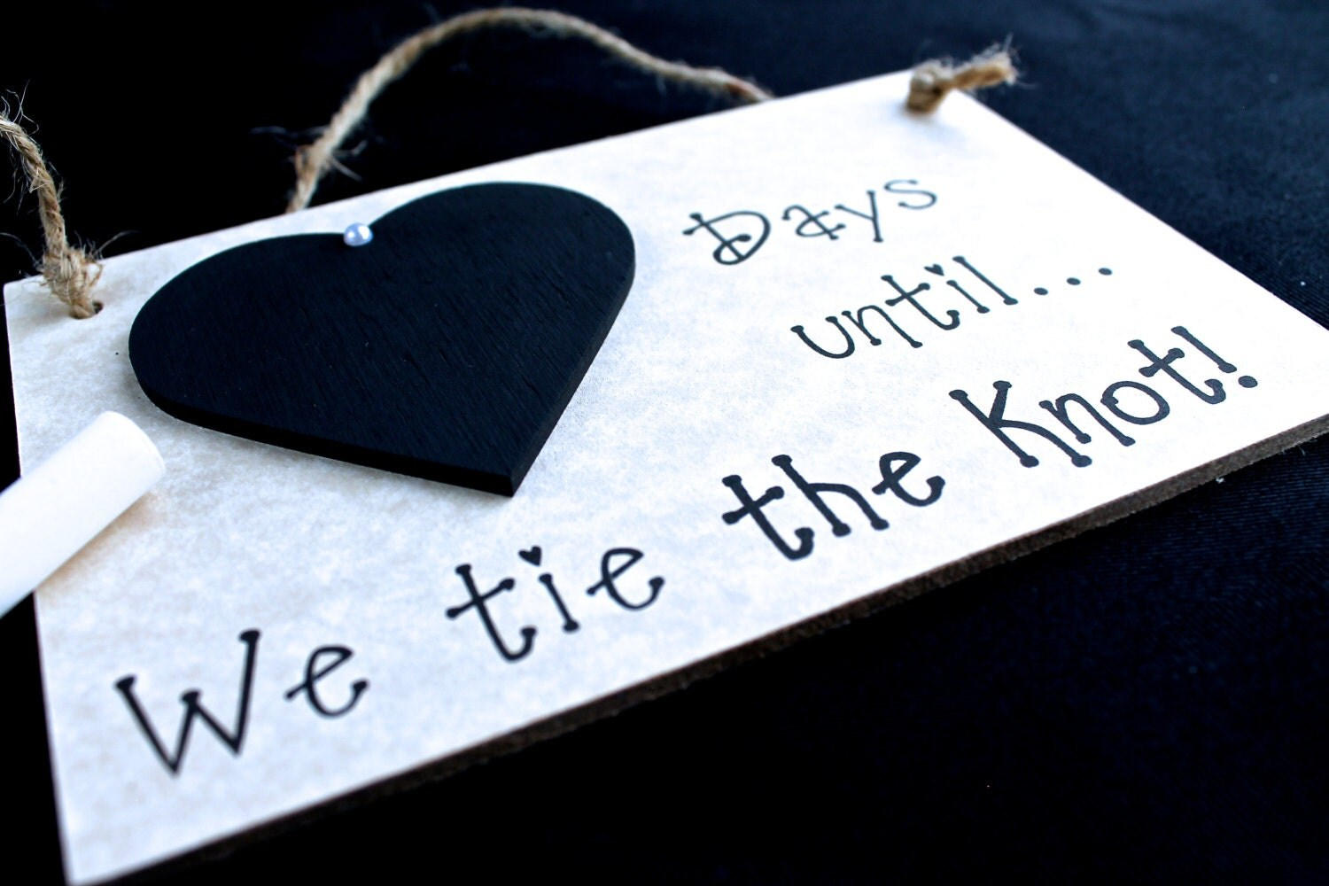 Wedding Gifts For Parents South Africa : Engagement gift Idea. Wedding Countdown by CountdownChalkboards