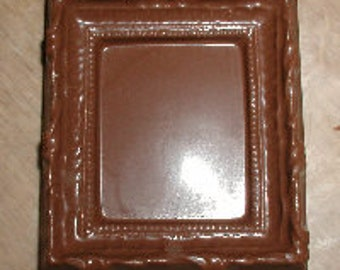 Small Ornate Picture Frame Chocolate Mold
