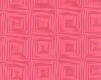 Paradiso by Kate Spain - Veranda Coral Pink - 1/2yd