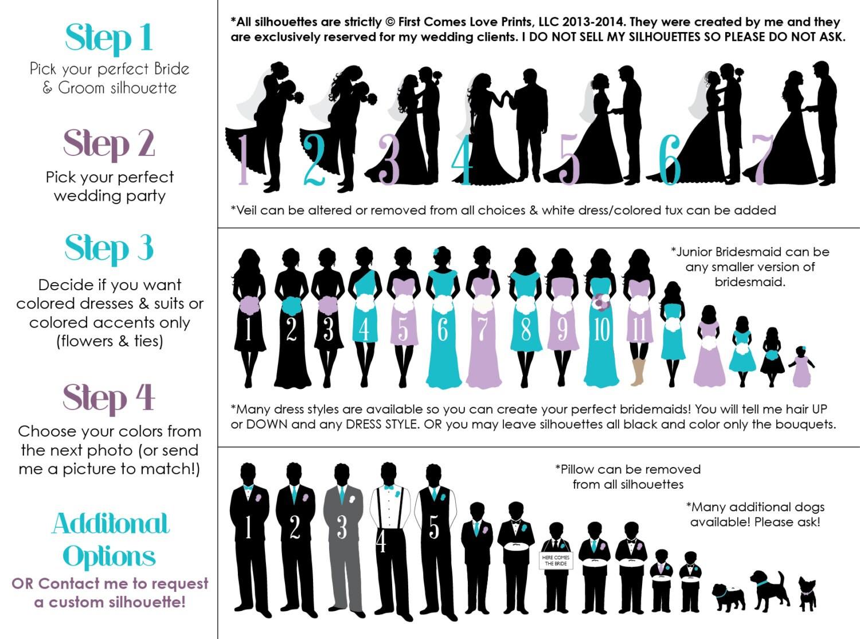 Printable wedding program the avery by firstcomesloveprints for Avery wedding program templates