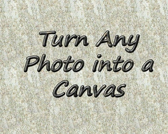 Print Any Picture on a Canvas