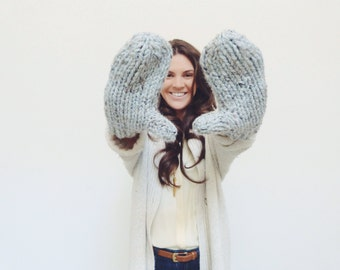 Mittens | Handmade, Warm, Soft and Cozy! Many colors available.