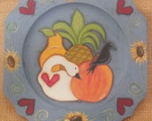 PATTERN, Painting Pattern, Fruit Plate, OFG, FAAP, DecoArt Americana, Pineapple, Apple, Crow, Goose, Pear