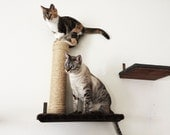 "Sisal Post, attached to 18"" Cat shelf  Cat Scratcher"
