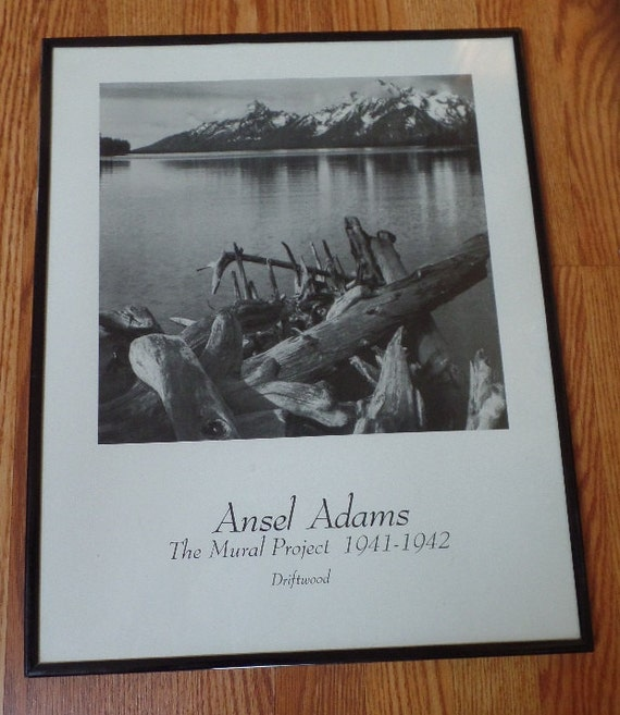 1940s photography by ansel adams framed by for Ansel adams the mural project