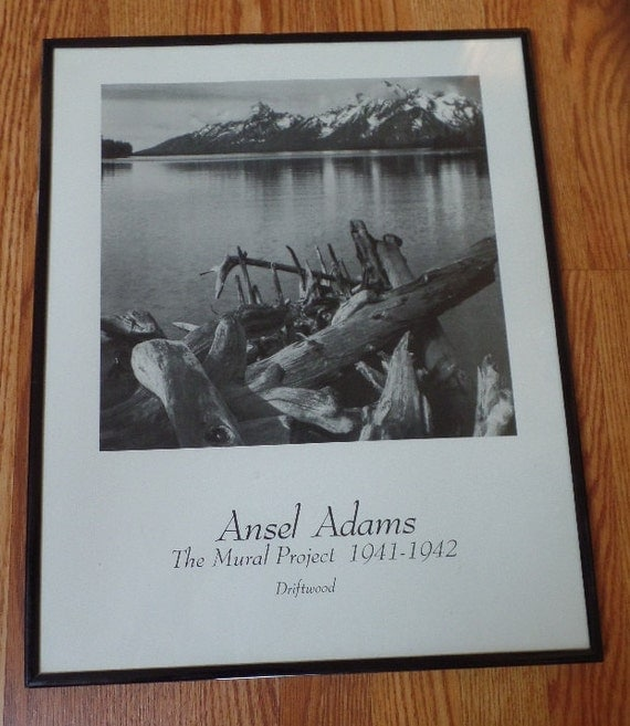 1940s photography by ansel adams framed by for Ansel adams mural project posters