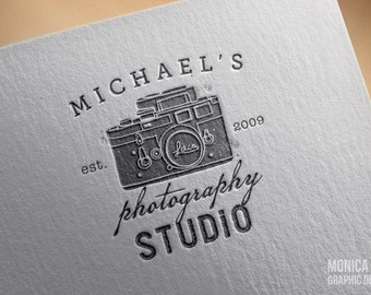 Professional Photographer Logo & Watermark/ Photography Logo/ Logo Design/ Custom Logo