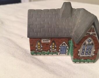 Wade Miniature Houses Set - 1988 - THE CHAPEL