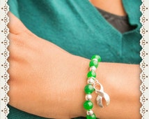 Liver Cancer Bracelet (Emerald)