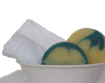 Sage Round Soap - VEGAN