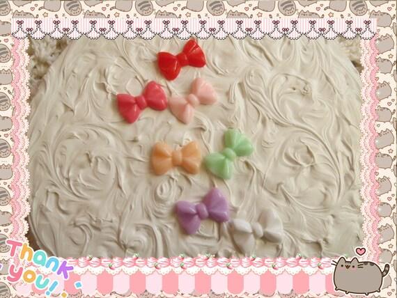 0: )- CABOCHON -( Rainbow Bow Tie