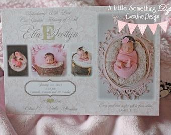 The Ella Scotlyn Birth Announcement