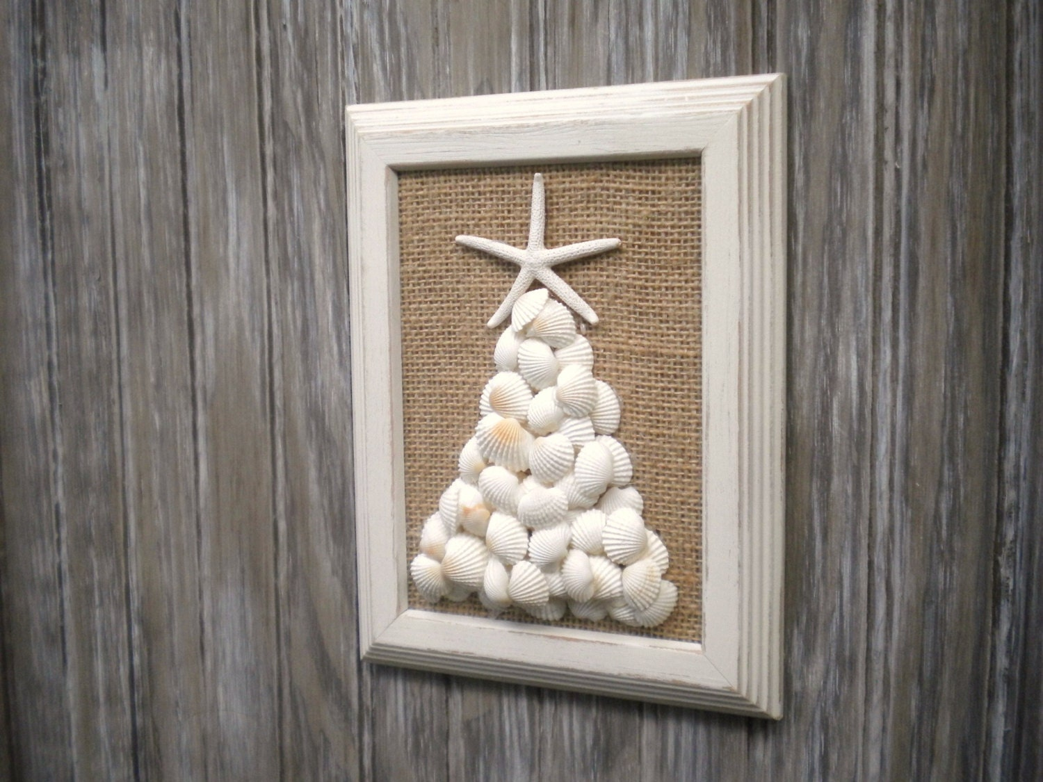 Beach Christmas Wall Art Beach House Decor By