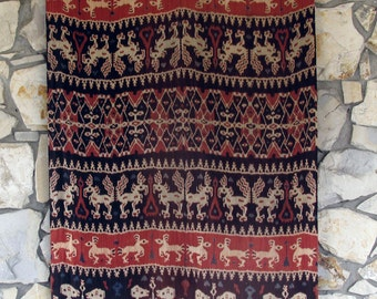 Ikat Wall Hanging Textile from Sumba