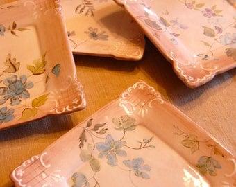 Tracy Porter, Josephine, handpainted dessert plates.