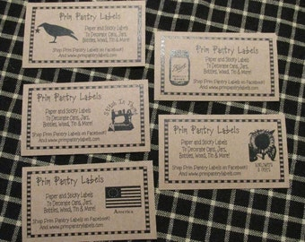 Set of (10) Same Design Business Cards - Personalized