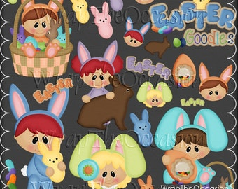 Easter Goodies - CU Clipart