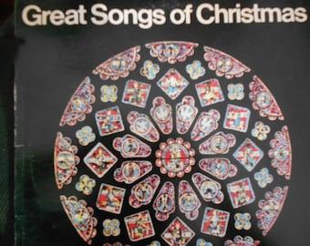 Great Songs Of Christmas - Album 9 - vinyl record