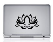Lotus,Vinyl Decal, Lotus Flower Decal , Yoga, Yoga Decal, Yoga sticker, Lotus Flower, Car decal, #D35
