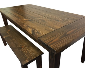 Farmhouse Table / Farm Table / Harvest Table / Rustic Table