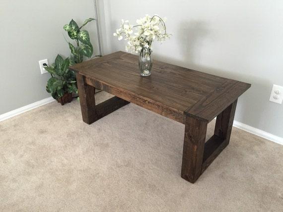 Rustic Coffee Table By EzekielandStearns On Etsy