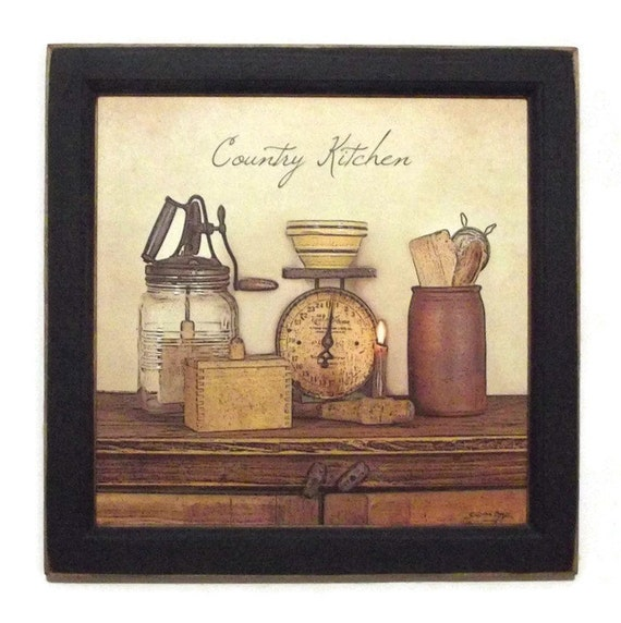 Country Kitchen Wall Decor: Country Kitchen Primitive Home Decor Kitchen Decor Home