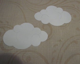 large cloud die cuts