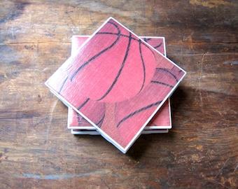 Tile Coasters, Basketball Coasters, Sports Coasters, Drink Coasters, Ceramic Coasters, Table Coasters