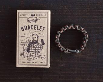 Handmade Paracord Lumberland Bracelet/Armband Mens/Womens Woodland Camo
