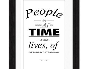 Paulo Coelho Quote - Capable