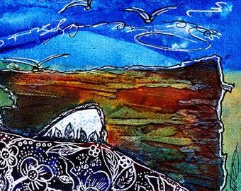 "Original Painting - ""MINI ART"" Series"