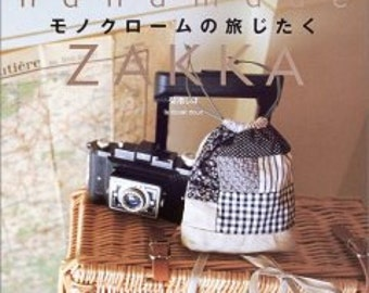 Zakka handmade craft book - bags, stamping, clothes and more