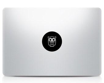 Cute Owl Macbook Decal Laptop Sticker Macbook Pro Air Vinyl Decal Macbook Sticker Macnip azs