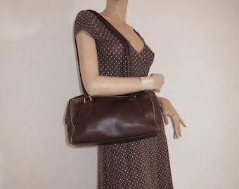 Bag shoulder bag tote bags leather SALMASO VTG
