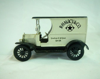R.H. Macy & Co. Toy Truck Bank