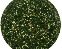 Disco Dust ~5 Gram~ * MOSS GREEN * Cake Cupcake Cookie Candy Decorations - Christmas Green Glitter