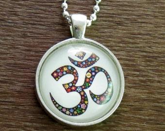 OM Namaste - Pendant Key Ring - Zen