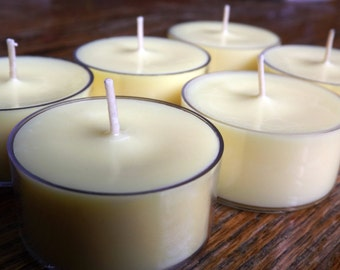 100 Nag Champa Scented Soy Tea Light Candles - Nag Champa Candles - Yoga Candle - Bulk Tea Light Candles - Nag Champa Tea Lights