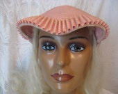 Cute Cute Little Pink Vintage Hat