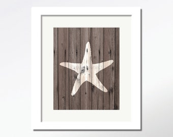 ocean decor starfish decor ocean art starfish art beach decor starfish print starfish wall decor starfish wall art sea art nautical decor