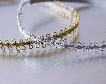SPECIAL PRICE /  BUY...............Silver or Gold Baby Halo, Newborn Photo Prop, Baby Headband, Baby Shower Gift.