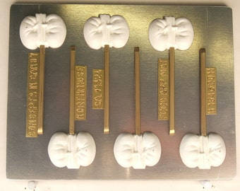 Kidneys Renal Urinary and Endocrine System Lollypop H164 Chocolate Candy Mold