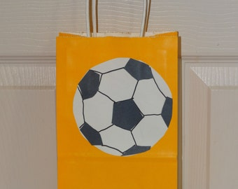 10 Soccer Favor/Candy/Goodie Bags