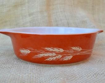 Pyrex Autumn Harvest Small Casserole Dish