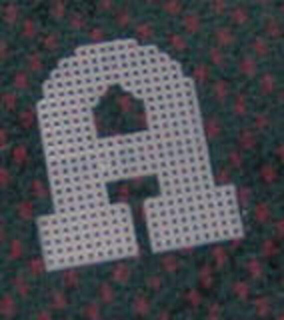 4 Inch Precut Plastic Canvas Letters