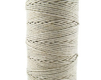 Hemp Cord Natural Color 36lb Test 100g Spool (CD6030)