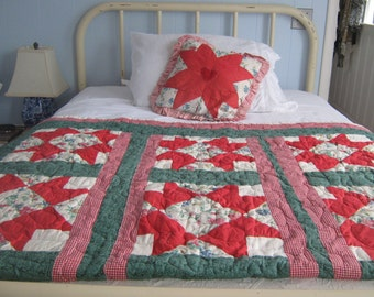A Pair Of Hand Made Quilts