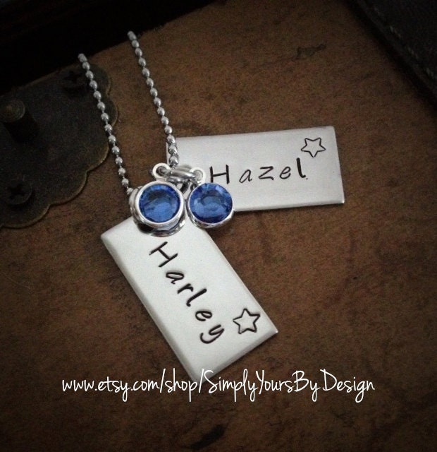 push present necklace for twins new mommy gift wife push