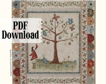 Quilt Pattern The Button Tree PDF Download